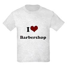 i heart barbershop Kids Light T-Shirt