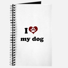 i heart my dog Journal