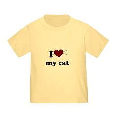 i heart my cat T