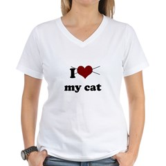 i heart my cat Shirt