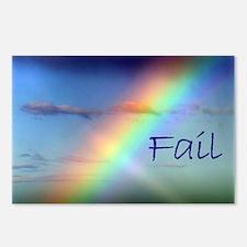 Rainbow Fail Hope Postcards (Package of 8)