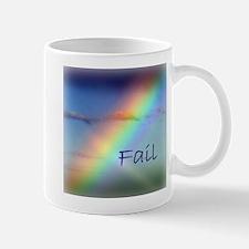 Rainbow Fail Hope Mug