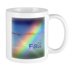 Rainbow Fail Hope Mug