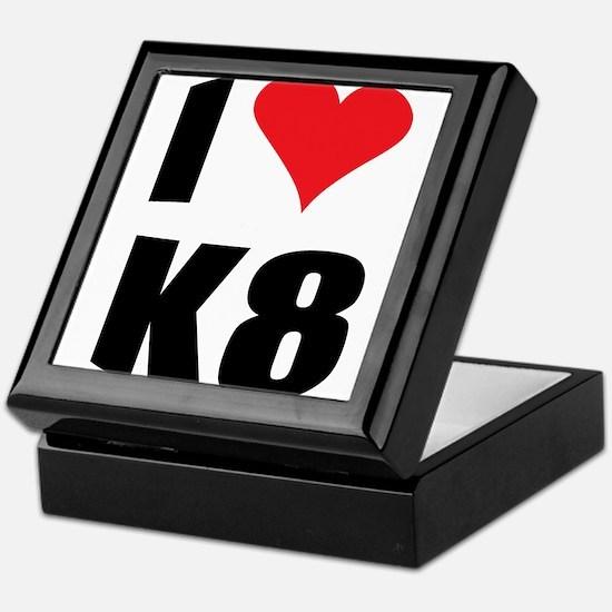 I (heart) K8 Keepsake Box