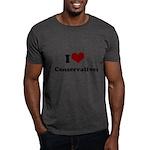 i heart conservatives Dark T-Shirt