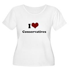 i heart conservatives T-Shirt