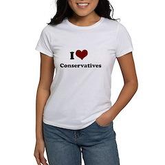 i heart conservatives Tee