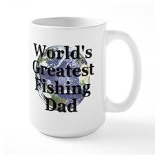 """World's Greatest Fishing Dad"" Mug"