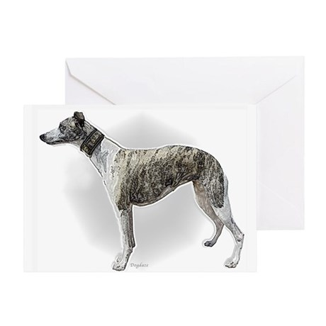 greyhound sympathy Greeting Card