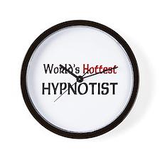 World's Hottest Hypnotist Wall Clock