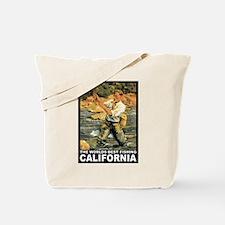 California Fishing Tote Bag