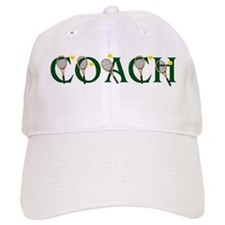 Tennis Coach Baseball Cap