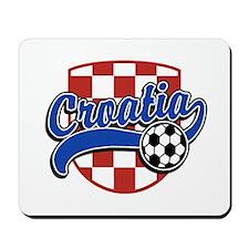Croatia Soccer Mousepad