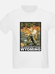 Wyoming Fishing T-Shirt