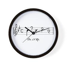 Dictation Wall Clock
