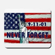9-11-01 Never Forget Mousepad