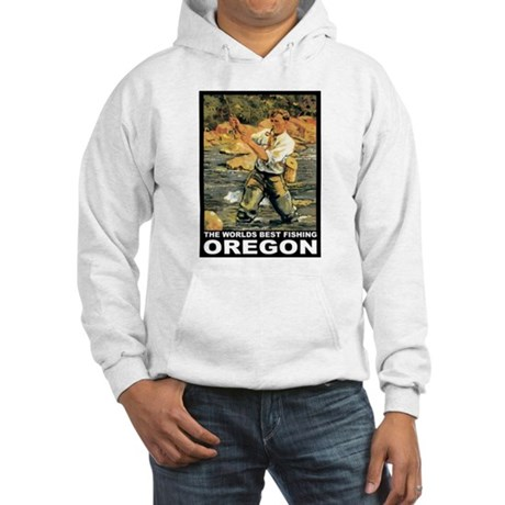 Oregon Fishing Hooded Sweatshirt
