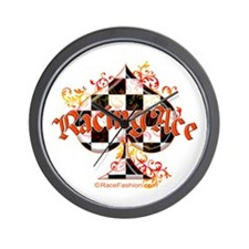 Racing Ace Wall Clock