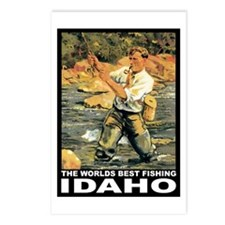 Idaho Fishing Postcards (Package of 8)