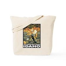 Idaho Fishing Tote Bag