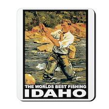 Idaho Fishing Mousepad