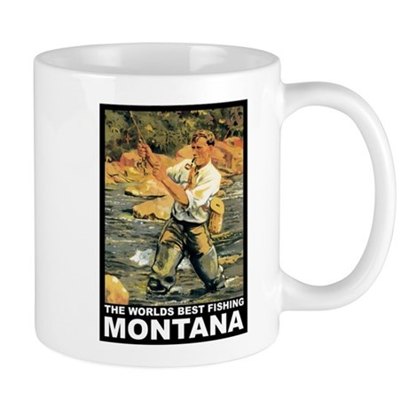 Montana Fishing Mug