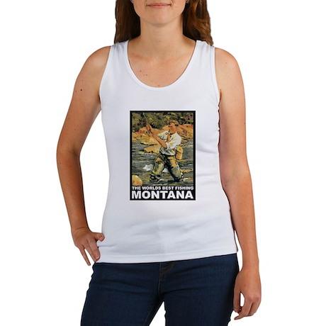 Montana Fishing Women's Tank Top