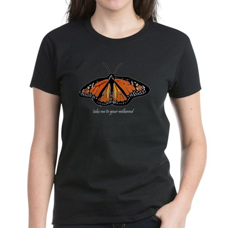 Monarch Butterfly Women's Dark T-Shirt