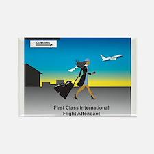 International Rectangle Magnet (100 pack)