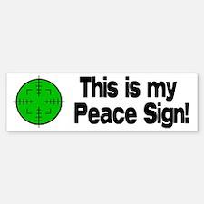 My Peace Sign Bumper Sticker (10 pk)