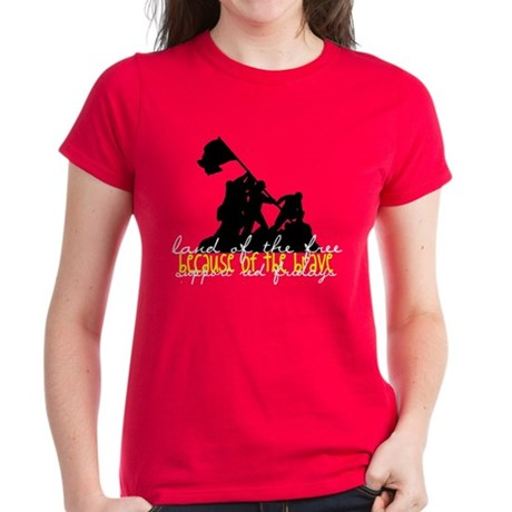 Women's Dark T-Shirt - brave