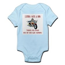 Biker Infant Bodysuit