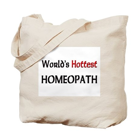 World's Hottest Homeopath Tote Bag
