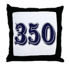 350 Throw Pillow