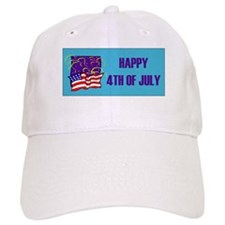 Happy 4th of July Baseball Cap