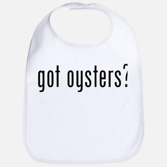 got oysters? Bib