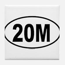 20M Tile Coaster