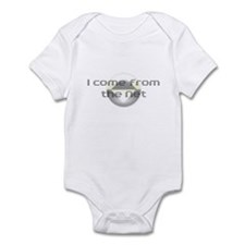 I come from the Net Infant Bodysuit