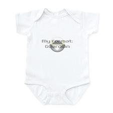 My format: Guardian Infant Bodysuit