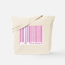 Pink Fresher Freshmen College Tote Bag