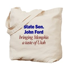 Ford, polygamist Tote Bag