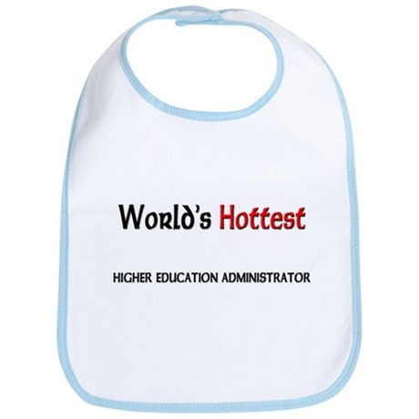 World's Hottest Higher Education Administrator Bib