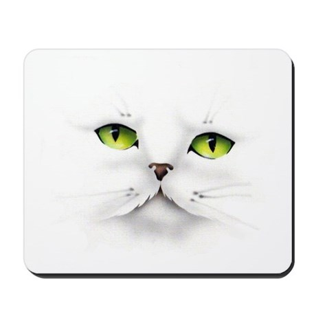 Cat face Mousepad