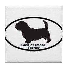 GLEN OF IMAAL TERRIER Tile Coaster