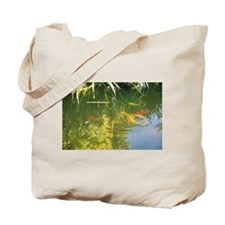 Sally's Japanese Garden Koi Pond Tote Bag