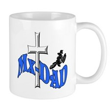 Mx-Dad Yamaha motocross mug
