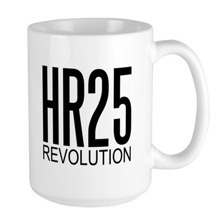 HR25 Revolution - Large Mug