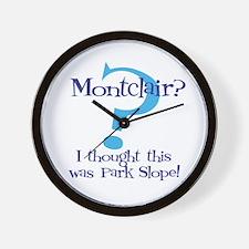 Park Slope Wall Clock