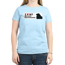 GREAT PYRENEES Womens Light T-Shirt