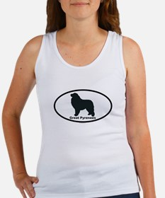 GREAT PYRENEES Womens Tank Top